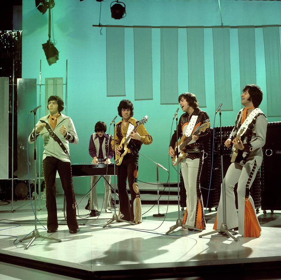 Photo Of Osmonds Photograph by Tony Russell