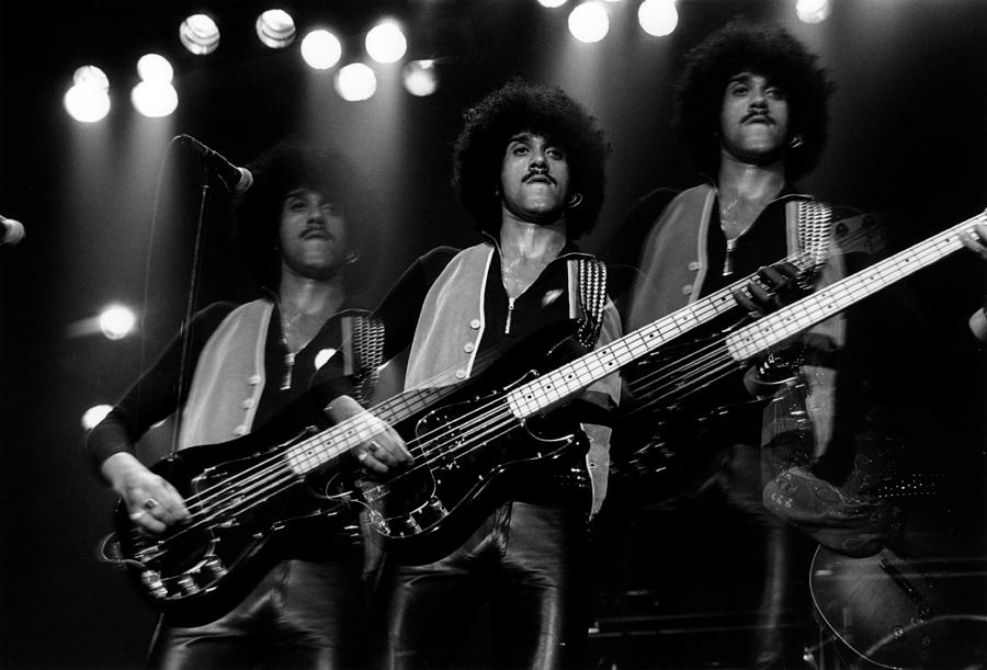 Photo Of Phil Lynott And Thin Lizzy Photograph by Fin Costello