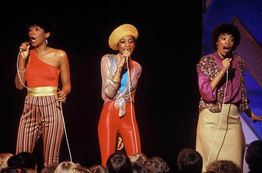 Photo Of Pointer Sisters Photograph by Steve Morley