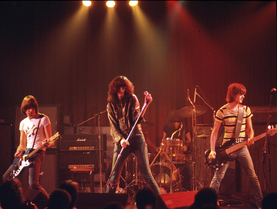 Photo Of Ramones Photograph by Michael Ochs Archives