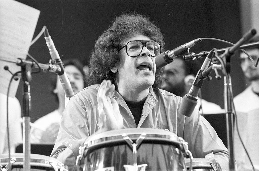 Photo Of Ray Barretto Photograph by Tom Copi