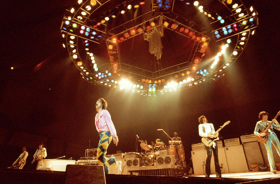 Photo Of Rolling Stones And Ron Wood Photograph by Andrew Putler