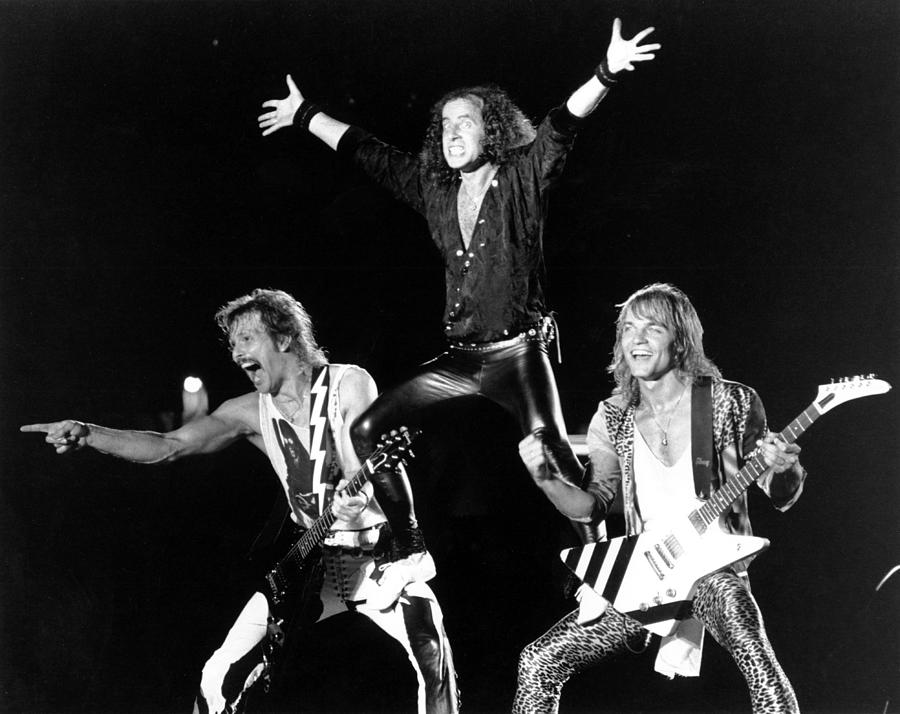 Photo Of Scorpions Photograph by Larry Hulst