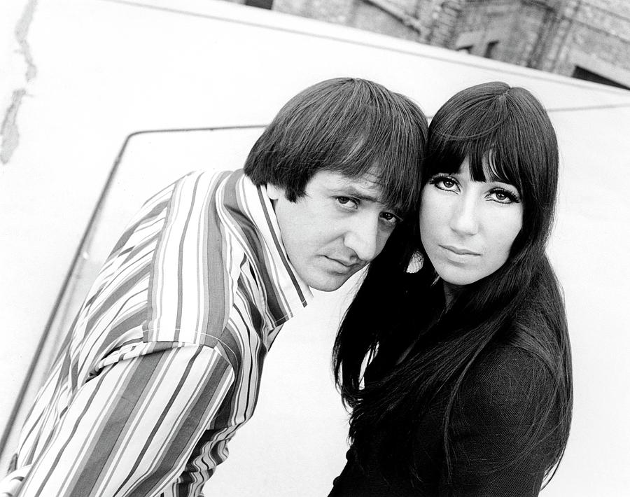 Photo Of Sonny Bono And Sonny & Cher Photograph by Ivan Keeman