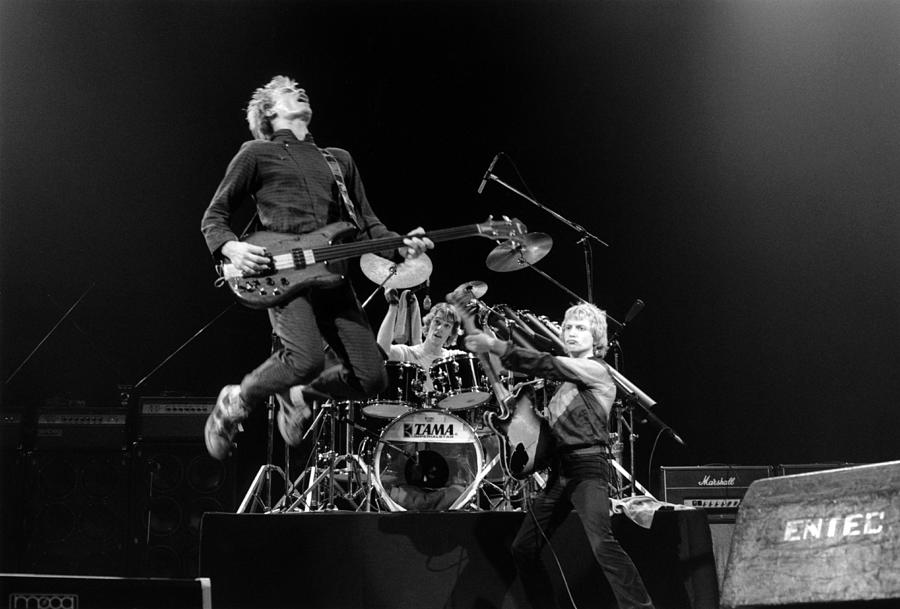 Photo Of Sting And Andy Summers And Photograph by Fin Costello