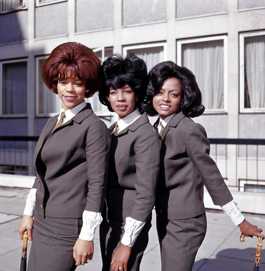 Photo Of Supremes And Florence Ballard Photograph by Ca