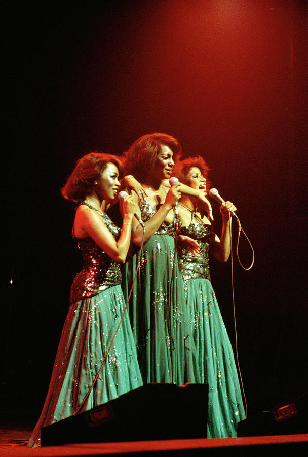 Photo Of Supremes And Susaye Greene And Photograph by Keith Bernstein