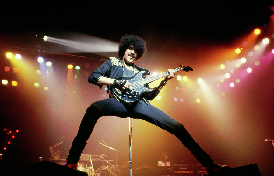 Photo Of Thin Lizzy And Phil Lynott Photograph by Pete Cronin