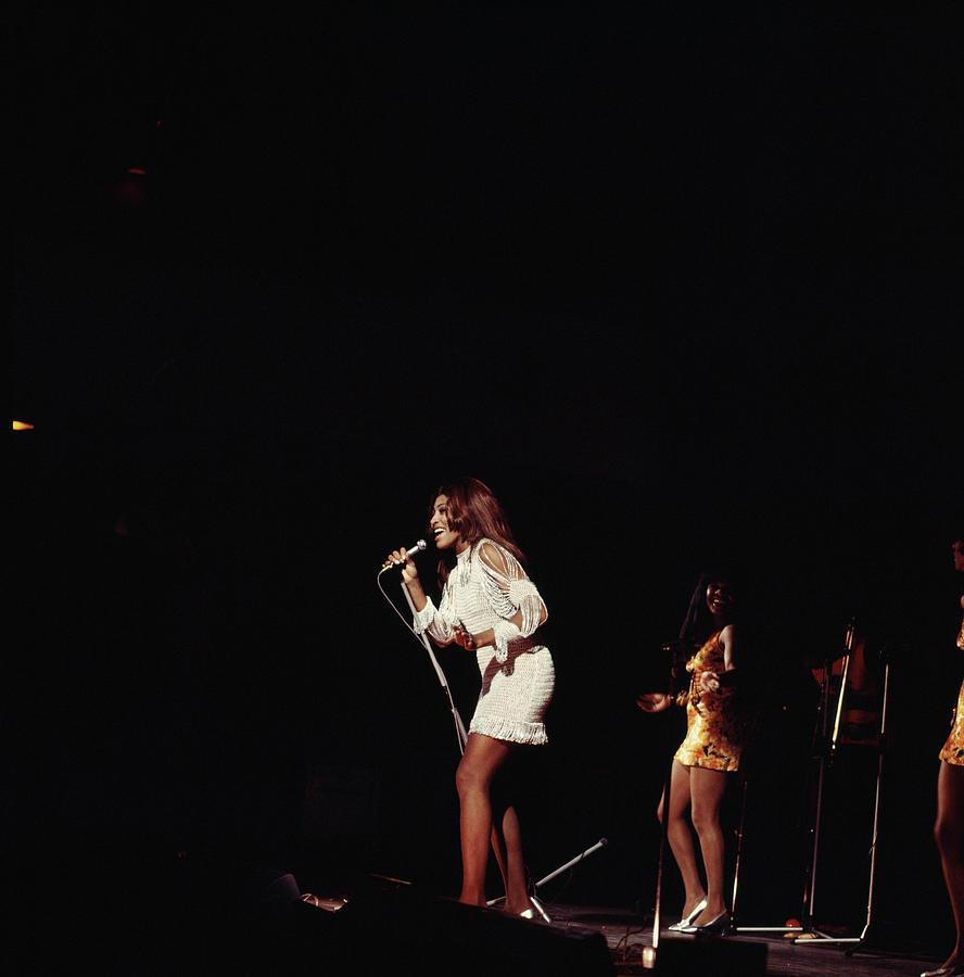 Photo Of Tina Turner And Ike & Tina Photograph by David Redfern