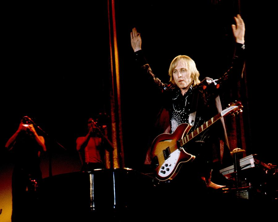 Photo Of Tom Petty & Heartbreakers Photograph by Larry Hulst
