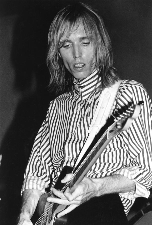 Photo Of Tom Petty Photograph by Richard Mccaffrey