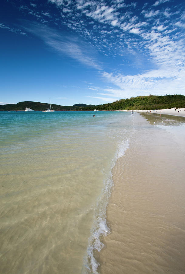 Photograph Of The Whitehaven Beach Photograph by Samvaltenbergs