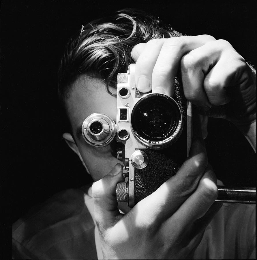 Photographer Photograph by Andreas Feininger