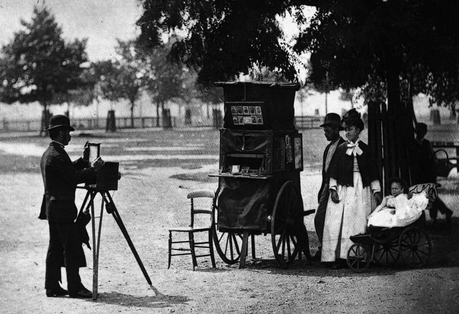 Photographer At Work Photograph by John Thomson