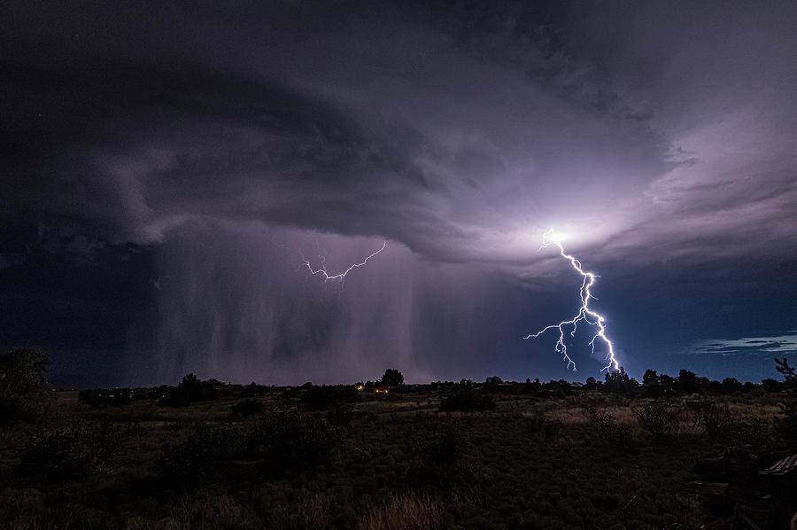 Thunderstorm #3 by Lou Novick