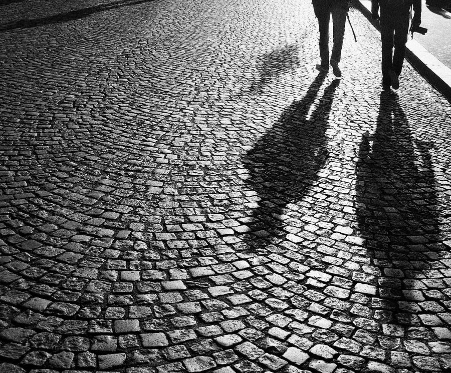 Photographers At Dawn In Montmartre Photograph by Jane Kerrigan