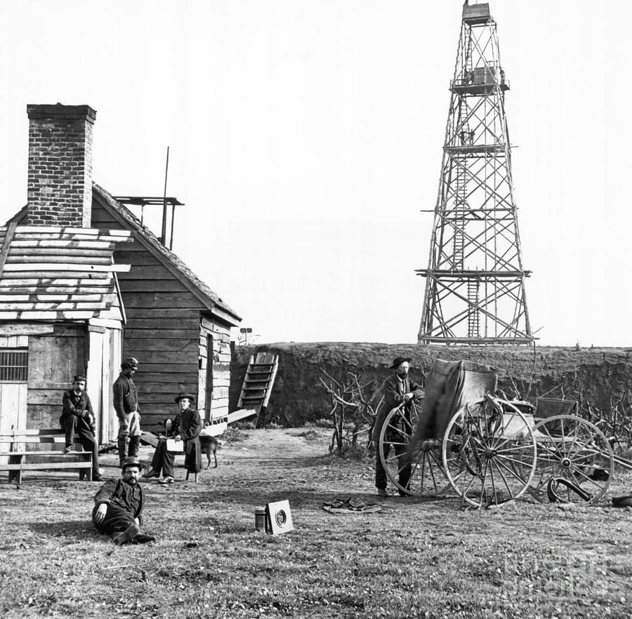 Photographers At Signal Tower Photograph by Bettmann
