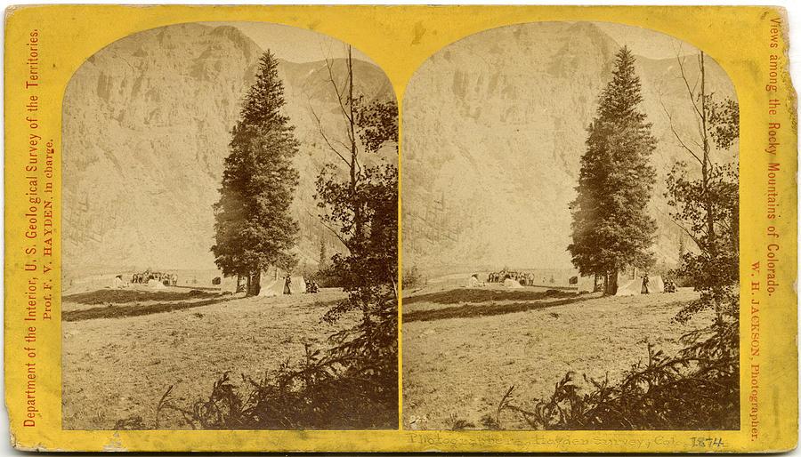Photographers, Hayden Survey, Colorado Photograph by The New York Historical Society