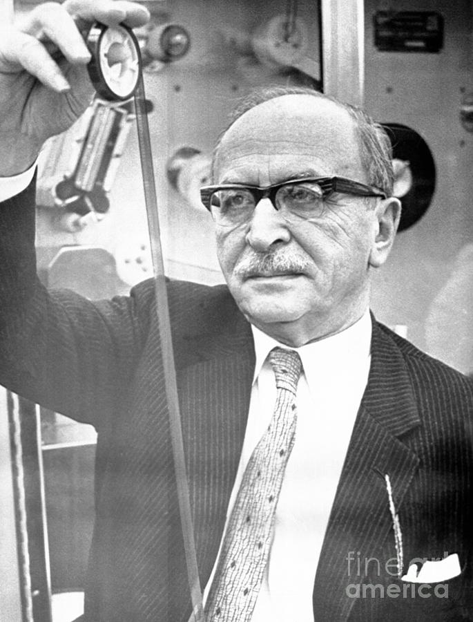 Physicist Dennis Gabor Photograph by Bettmann