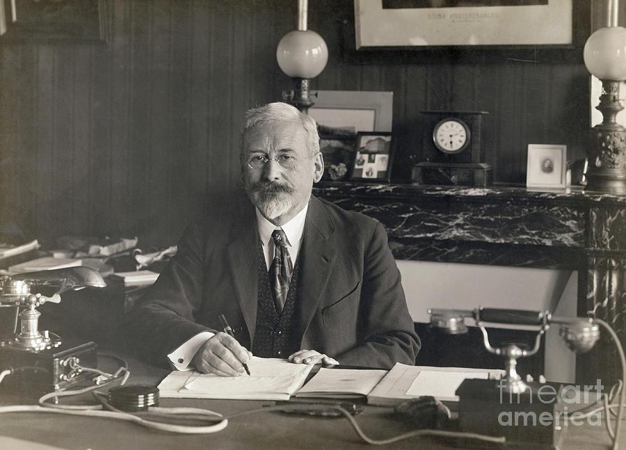 Physicist Edward Guillaume Photograph by Bettmann