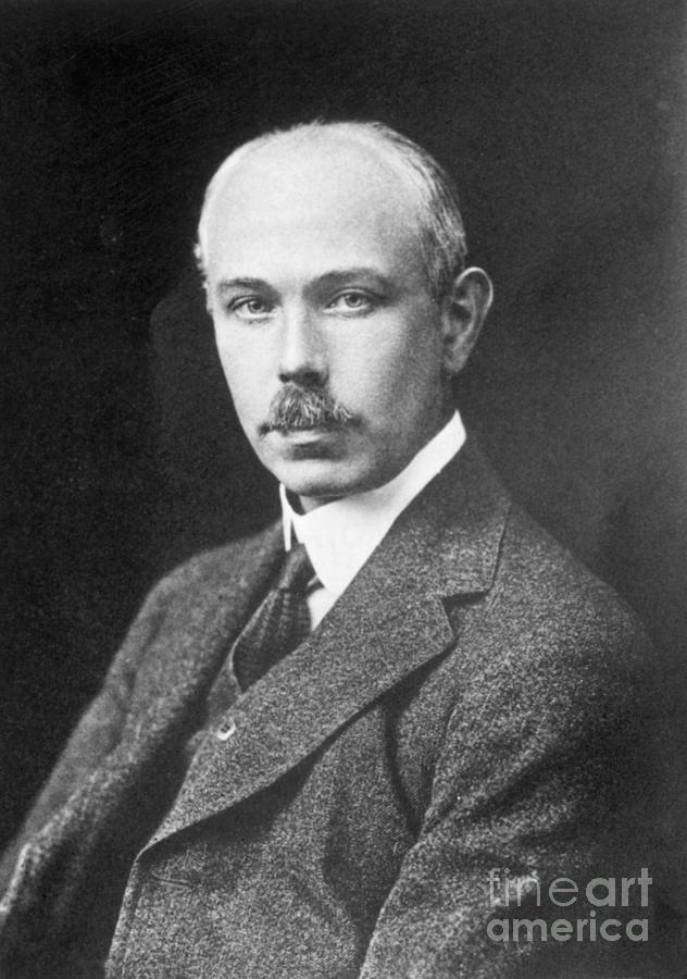 Physicist Francis William Aston Photograph by Bettmann