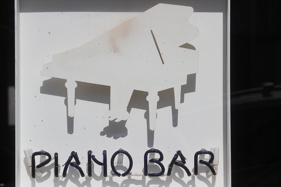 Piano Bar Photograph - Piano Bar by Callen Harty