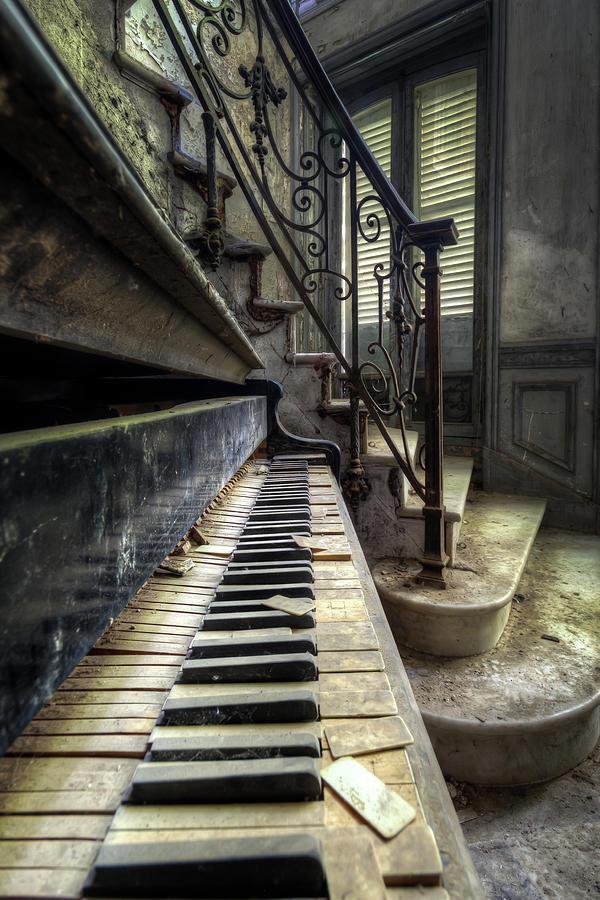 Piano Detail by Roman Robroek