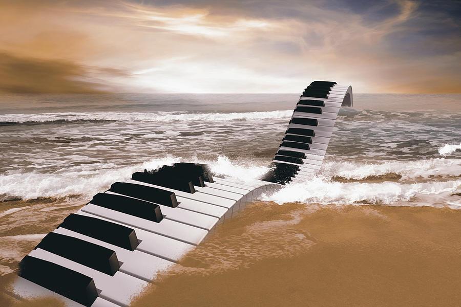 Piano Fantasy Digital Art