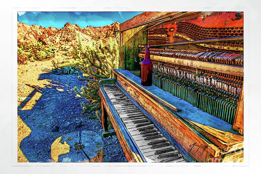 Piano Horrizontal 1c Color by Mauro Celotti