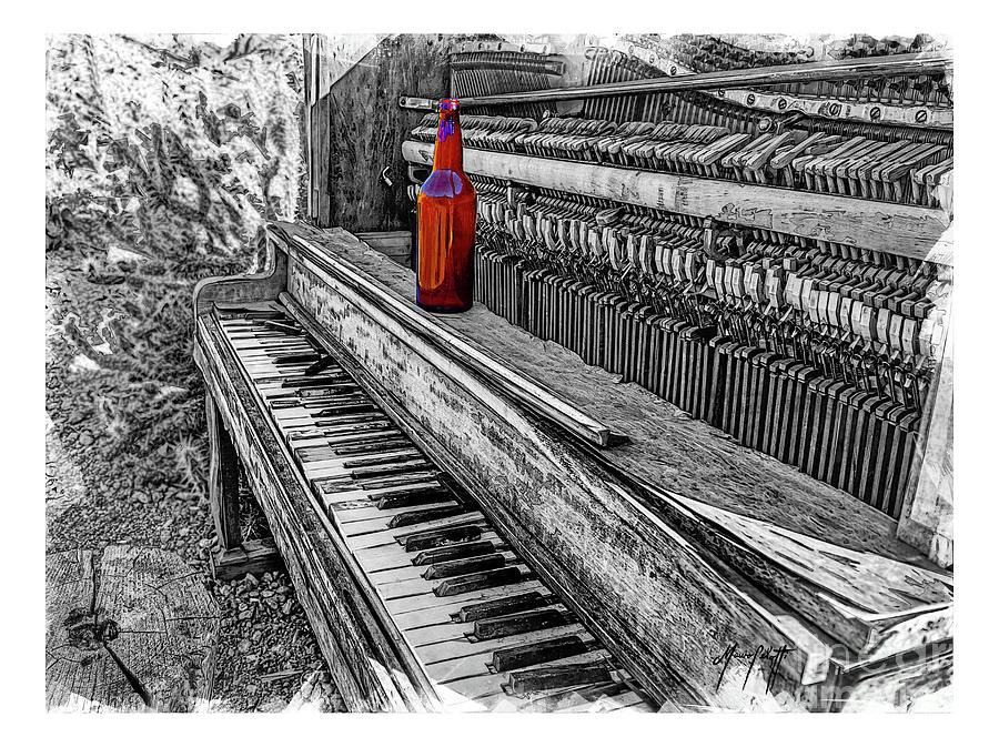 Piano Horrizontal 1c  by Mauro Celotti