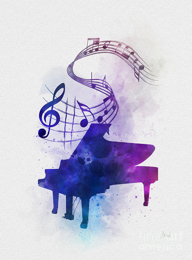 Piano Music Notes by My Inspiration