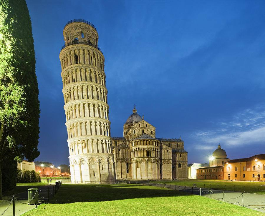 Piazza Dei Miracoli, Leaning Tower And Photograph by Maremagnum
