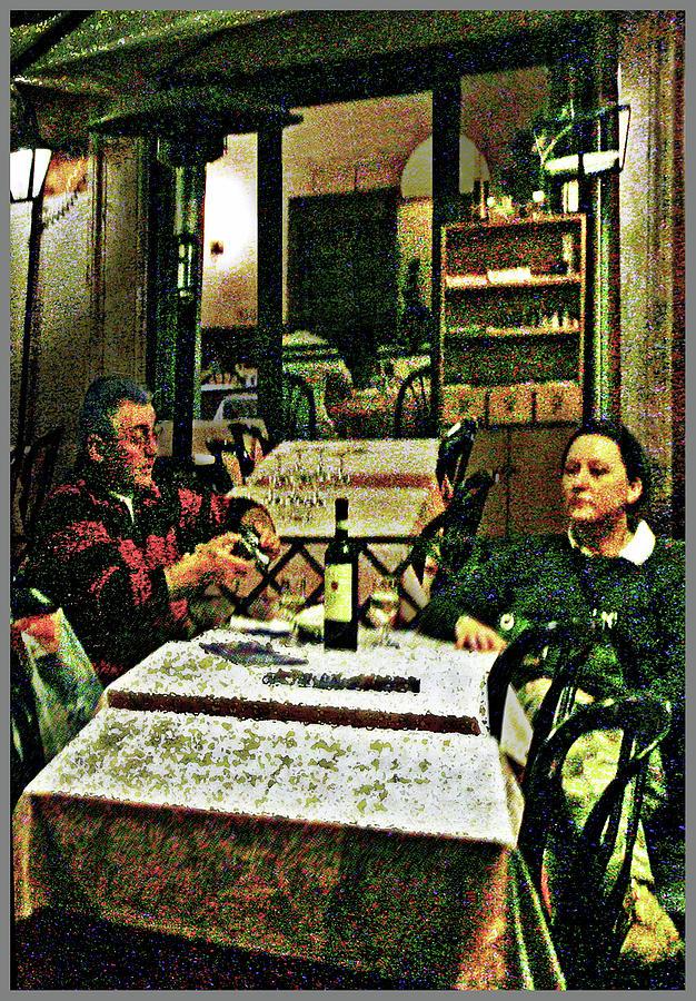 Piazza Navona-Evening Wine by Guy Ciarcia