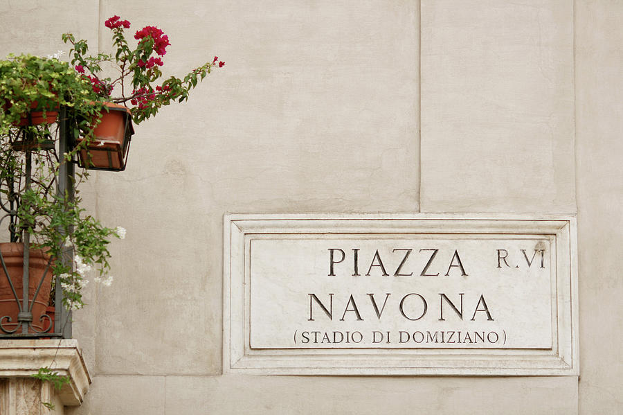 Piazza Navona In Rome Photograph by Romaoslo