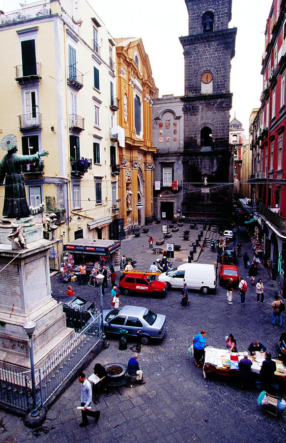 Piazza San Gaetano, Naples, Italy Photograph by Lonely Planet