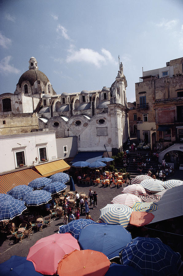 Piazza Umberto Photograph by Slim Aarons