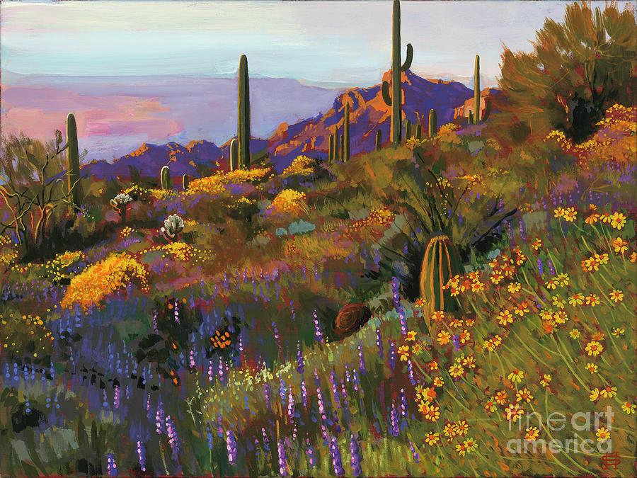 Picacho Peak, Arizona by Michael Stoyanov