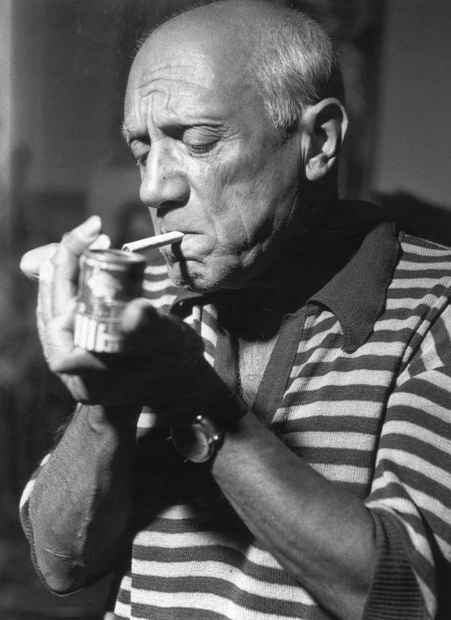 Picasso Lights Up Photograph by George Stroud