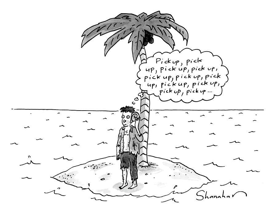 Pick Up Drawing by Danny Shanahan