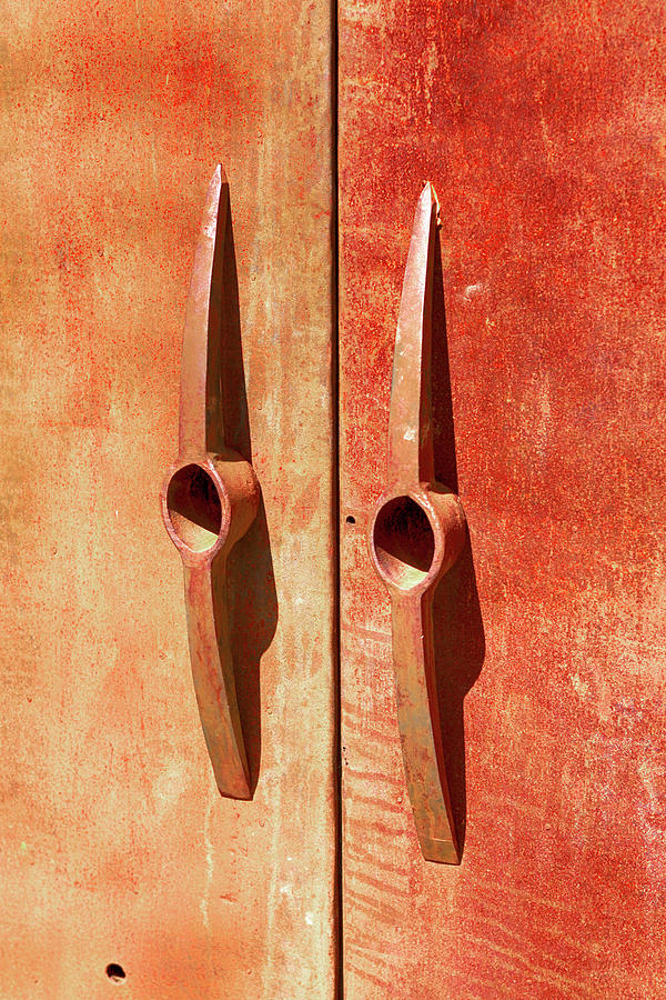 Pickaxe Doors Handles by Chris Smith