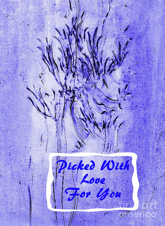 Picked With Love With Text 300 Mixed Media