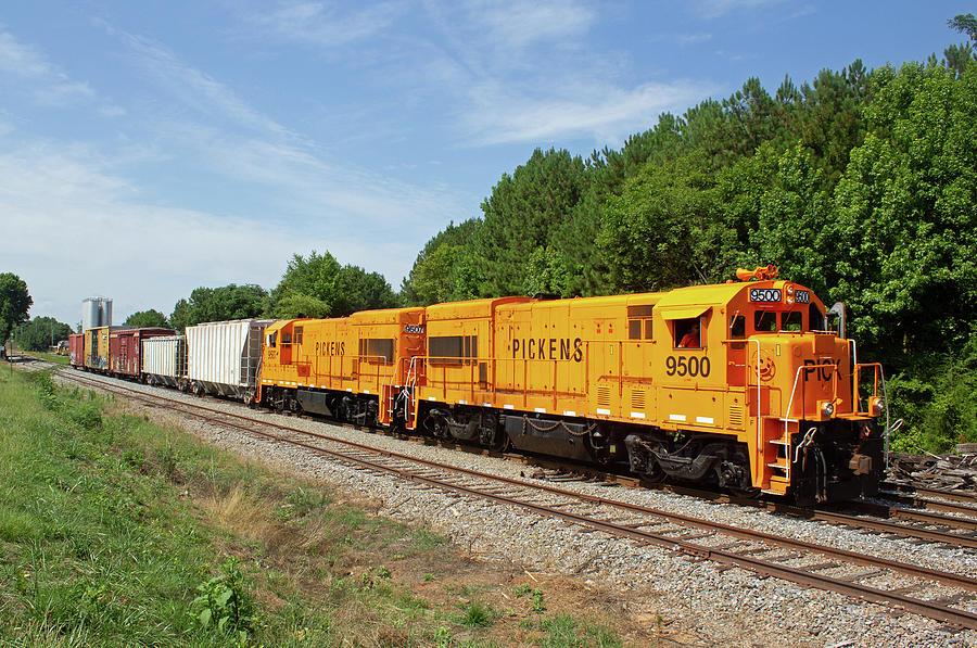 Pickens Railroad 9500 Z by Joseph C Hinson