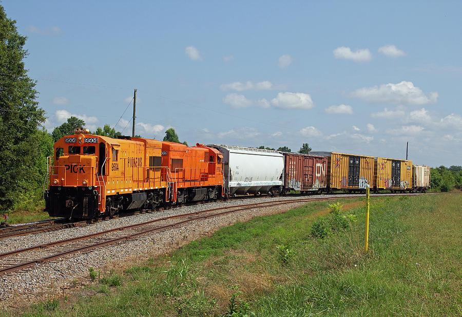 Pickens Railroad 9504 H by Joseph C Hinson