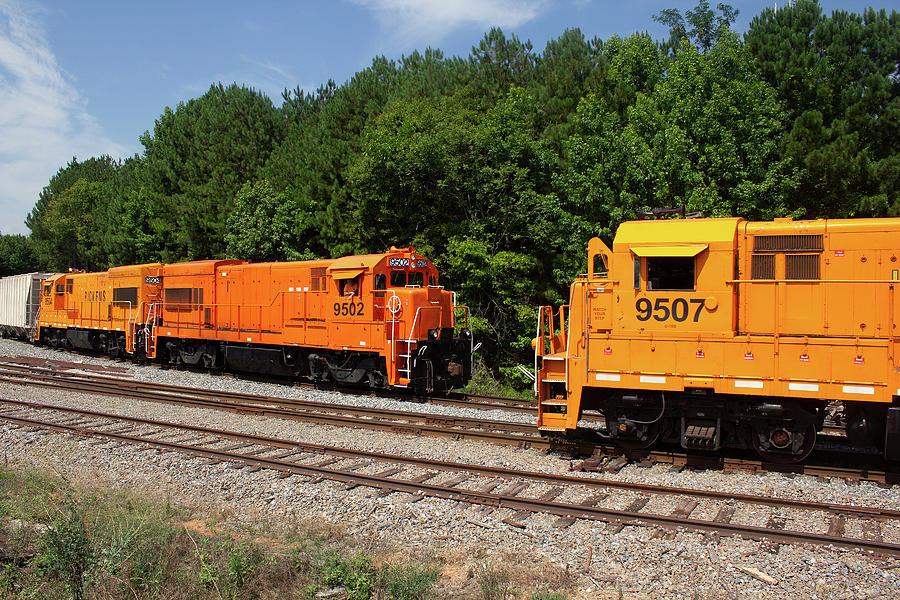 Pickens Railroad Train 22 by Joseph C Hinson