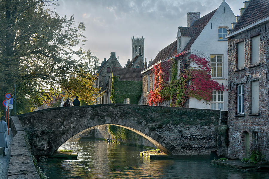 pictorial Bruges Photograph