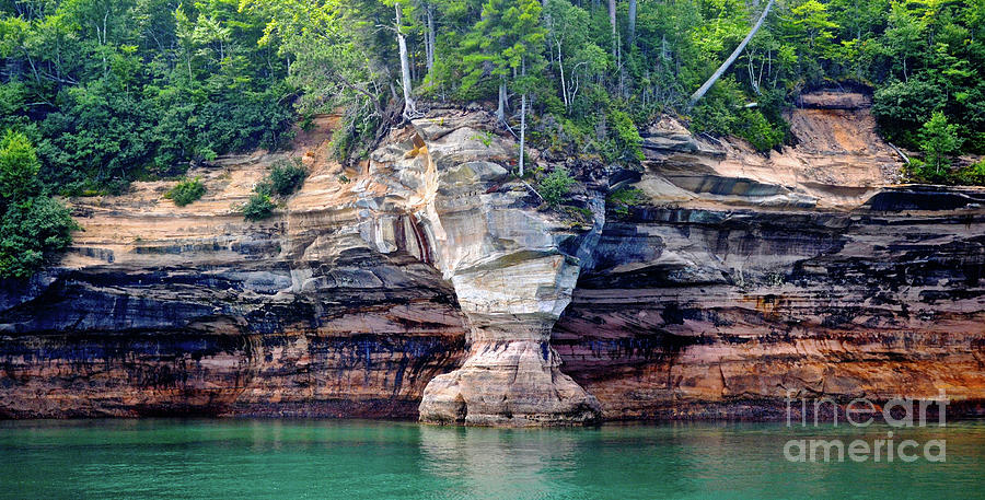 Pictured Rocks National Lakeshore View B Photograph