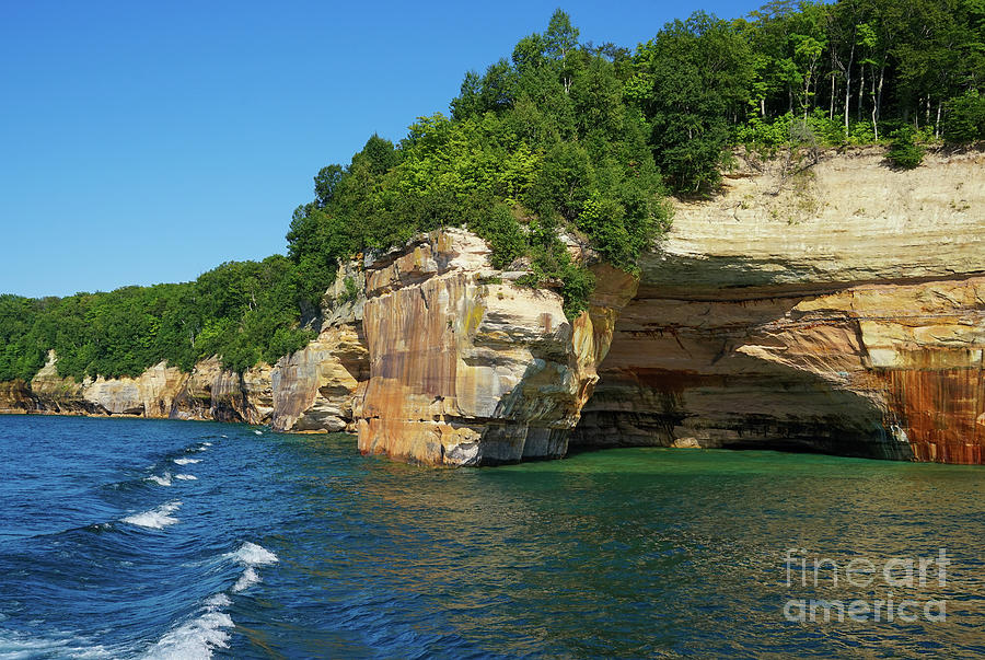Pictured Rocks Summer by Rachel Cohen