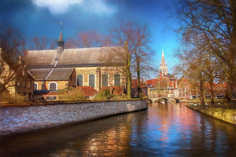 Picturesque Bruges Belgium  by Carol Japp