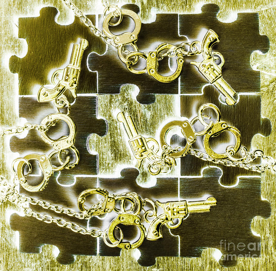 Puzzle Photograph - Piecing Puzzles Of A Crime by Jorgo Photography - Wall Art Gallery
