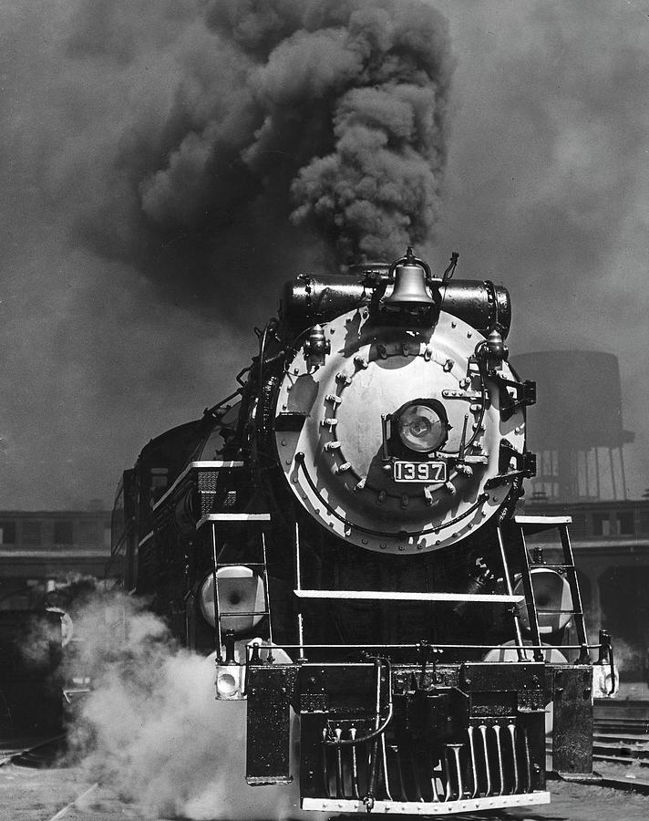 Piedmont Limited Locomotive Photograph by Horace Bristol